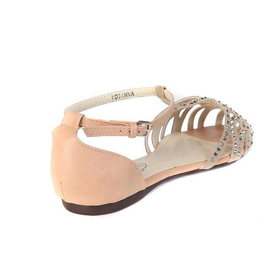 GC Studded Suede Date Night Night Out Blush Sandals