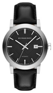 Burberry Burberry the City BU9302 Black Leather Strap Automatic Swiss Watch
