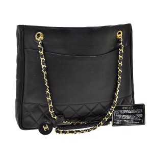 Chanel Shopper Tote Shoulder Bag