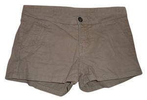 AllSaints Casual Mini Cotton Mini/Short Shorts Camel
