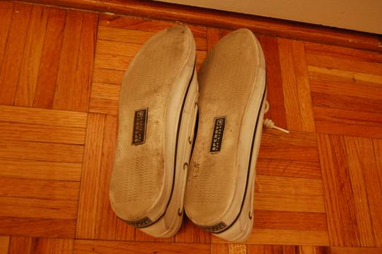 Sperry Boat Summer Canvas Classic Cream White Flats