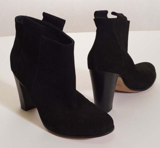 Preload https://img-static.tradesy.com/item/4375552/lemare-0604-womens-black-suede-leather-cros-heels-ankle-bootie-boots-italy-0-0-540-540.jpg