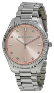 Michael Kors Michael Kors Rose Dial Silver Tone Ladies Watch