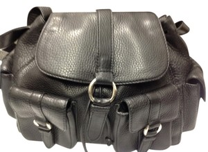 Cole Haan Leather Satchel in Black