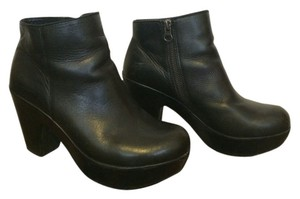 Kork-Ease Leather Clog Classic Black Boots