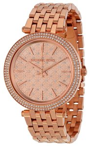Michael Kors Micahel Kors Crystal Pave Luxury Rose Gold Ladies Watch