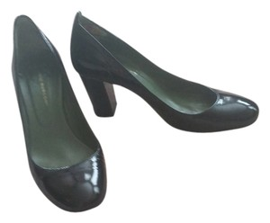 Fabio Rusconi Classic Black Patent Leather Pumps