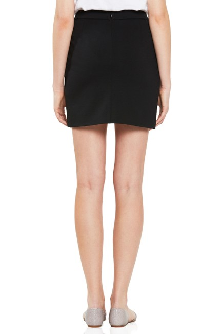 Rebecca Minkoff Size Small Size 4 Size 27 Small S 27 4 Small Mini Midi Work Pencil Lined Short Nylon Rayon Nylon Spandex Mini Skirt Black