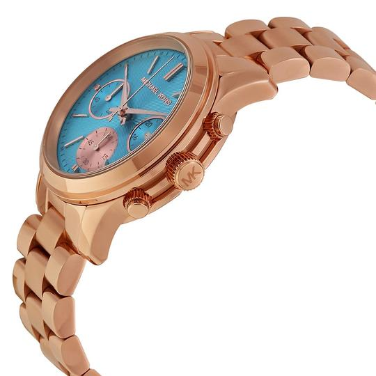 Michael Kors Michael Kors Blue Dial Rose Gold Stainless Steel Ladies watch