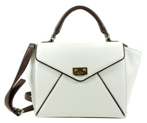 Kate Spade Satchel in Magnolia/Turkish Coffee
