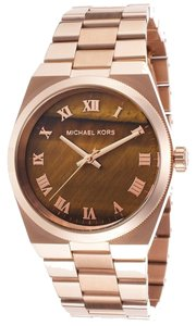 Michael Kors Michael Kors Rose Gold Tortoise Shell Dial Ladies Watch