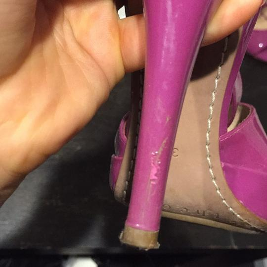 Theory Purple Pumps