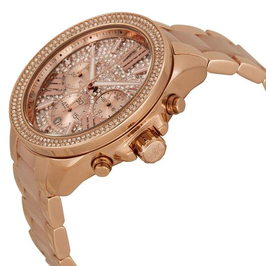 Michael Kors Michael Kors Oversized Rose Gold with Crystal Pave Dial Ladies watch