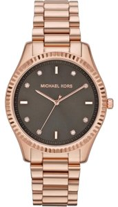 Michael Kors Michael Kors Brown Dial Rose Gold Ladies Watch