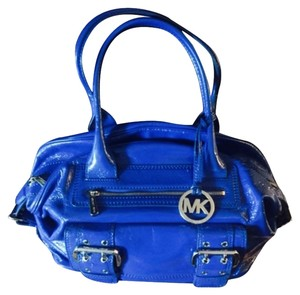 Michael Kors Satchel in Cobalt Blue