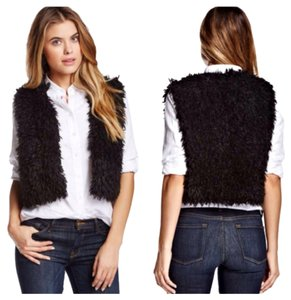 Weston Wear Vest Faux Fur Bolero Poncho Cardigan