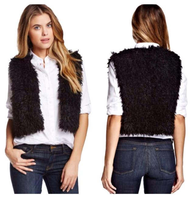 Weston Wear Vest Faux Fur Bolero Poncho Shrug Cardigan
