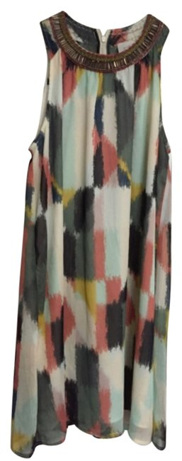 Preload https://item5.tradesy.com/images/anthropologie-multicolor-jeweled-brushstrokes-shift-knee-length-cocktail-dress-size-6-s-4377259-0-0.jpg?width=400&height=650