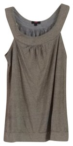 Ann Christine Top Gray & Gold