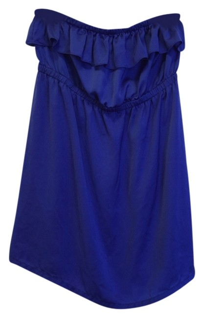 Preload https://item3.tradesy.com/images/forever-21-blue-mini-night-out-dress-size-8-m-4377472-0-0.jpg?width=400&height=650