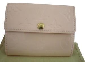 Louis Vuitton Louis Vuitton Vernis Wallet Coin Card in Blush