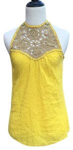 Other Yellow Halter Top