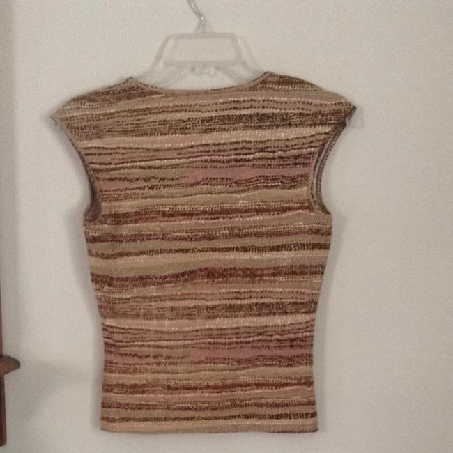 The Limited T Shirt Tan Brown Multi Image 3