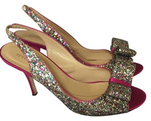 Kate Spade Multi/Sparkle Glitter Pumps