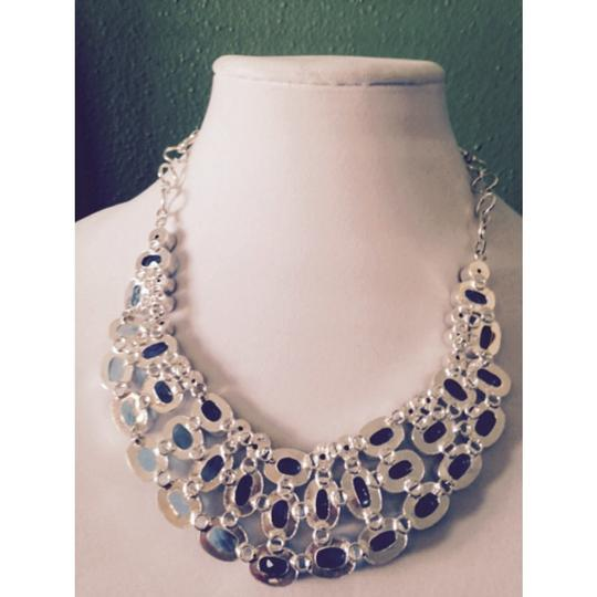 My Closet- Embellished by Leecia Embellished by Leecia Blue Topaz Statement Necklace