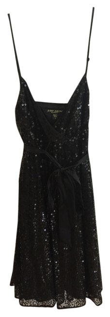 Preload https://item5.tradesy.com/images/betsey-johnson-black-sequin-satin-above-knee-cocktail-dress-size-2-xs-4378894-0-0.jpg?width=400&height=650