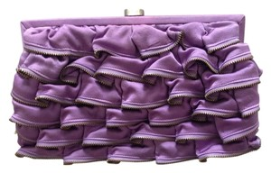 Marco Santi Zipper Purple Clutch