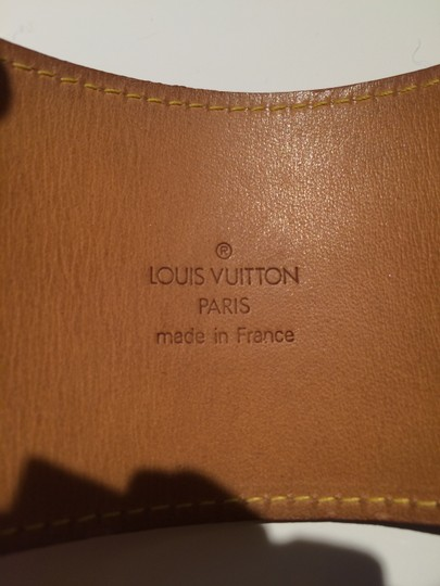 Louis Vuitton LOUIS VUITTON RED LEATHER VERNIS CUFF