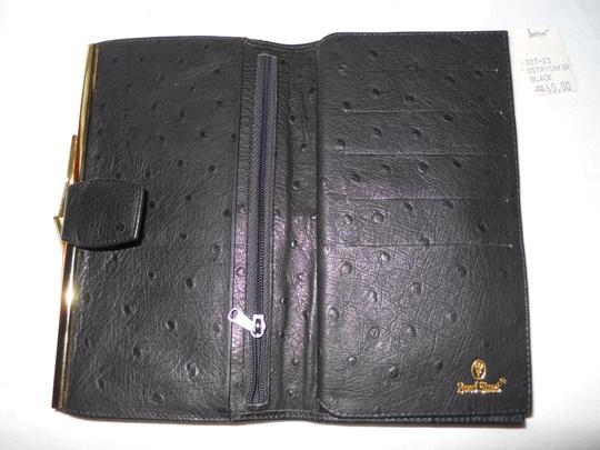 Bond Street Vintage Bond Street ostrich leather wallet