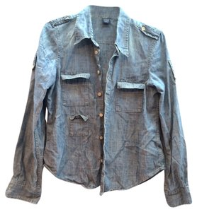 Earl Jean Denim Shirt Blue Shirt Design Shirt Western Denim Shirt Nordstrom Shirt Talkingfashion Parladimoda Used Button Down Shirt Blue Distressed