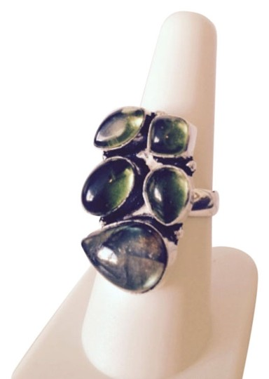 Preload https://img-static.tradesy.com/item/4379269/bluegreensilver-embellished-by-leecia-labradorite-ring-0-0-540-540.jpg