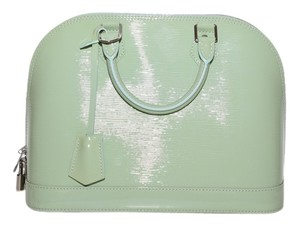Louis Vuitton Green Electric Clutch