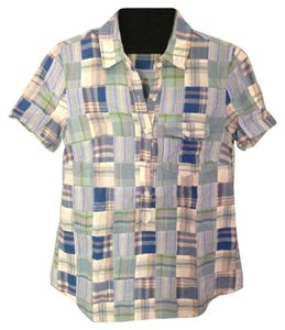 J.Crew Button Down Shirt Multi