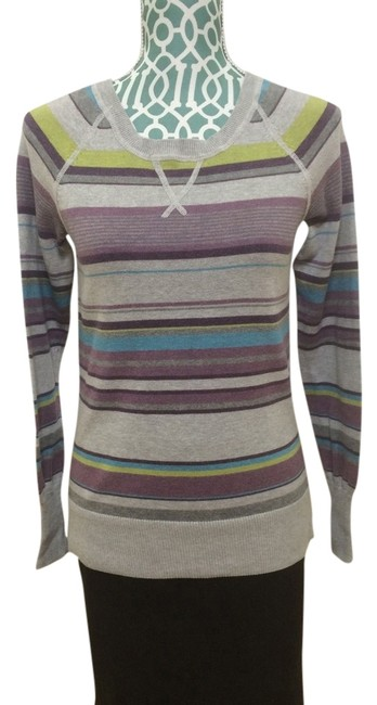 Preload https://item5.tradesy.com/images/sonoma-multi-color-striped-casual-cotton-sweaterpullover-size-6-s-4379494-0-0.jpg?width=400&height=650