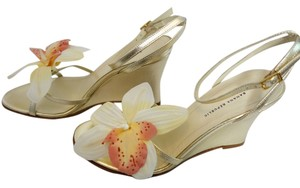 Banana Republic Strappy Floral Sandals