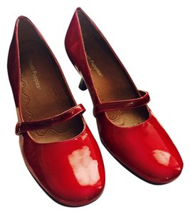 Hush Puppies Red Pumps
