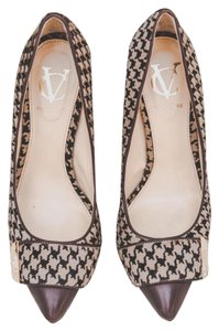 Vince Camuto houndstooth brown Formal