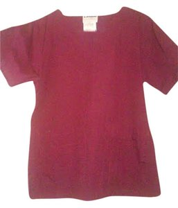 Adrienne Landau Scrub top--size small; not form fitting
