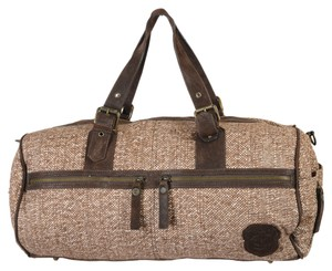 Just Cavalli Brown Travel Bag