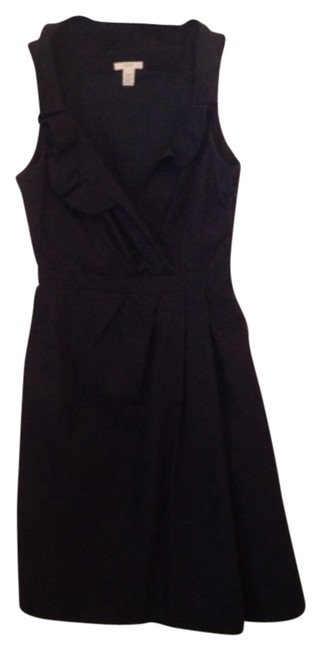 Preload https://item3.tradesy.com/images/jcrew-blk-blakely-above-knee-cocktail-dress-size-2-xs-4380532-0-0.jpg?width=400&height=650
