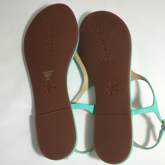 Splendid Sea Green Sandals