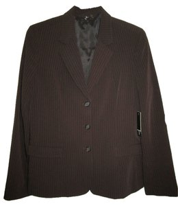Tahari Chocolate Brown Blazer