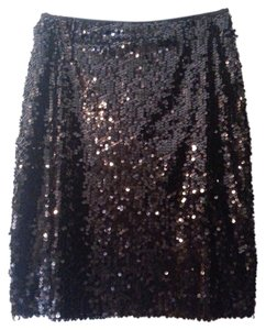 Calvin Klein Skirt Black Sequin