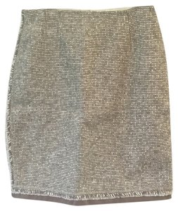 Lafayette 148 New York Skirt Brown-Grey/Cream