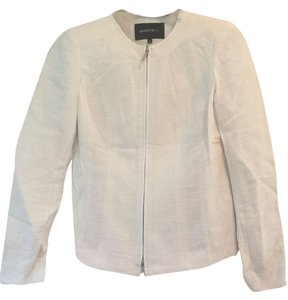 Lafayette 148 New York Cream Jacket