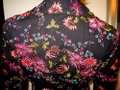 Johnny Was New Black with Multi-color Shanghai Mum Floral Embroidered Blazer Size 2 (XS) Johnny Was New Black with Multi-color Shanghai Mum Floral Embroidered Blazer Size 2 (XS) Image 8
